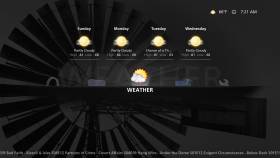 Simplicity Weather on the Home Screen