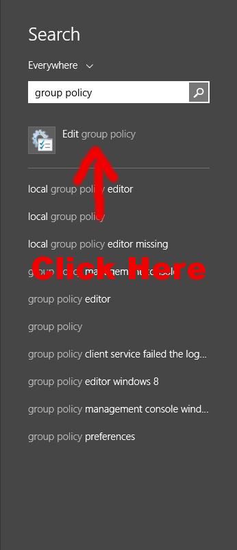 SearchGroupPolicyEditor