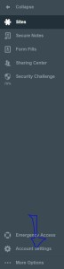 Google AuthenticatorLastpass Account settings